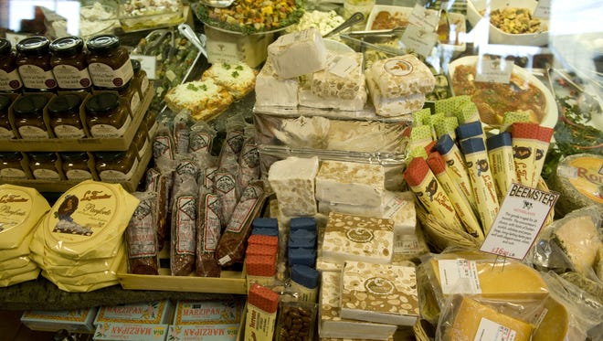 Specialty meats and cheeses are among the offerings at Severino Pasta. Al Schell/Courier-Post Severino Pasta in Haddon Twp., is a family owned business.