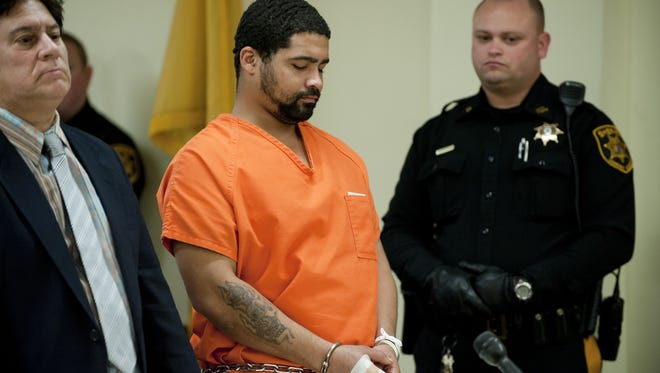 Gilberto Villanueva was sentenced to 60 years in prison for stabbing his ex-girlfriend and killing her mother in a 2013 Merchantville attack.