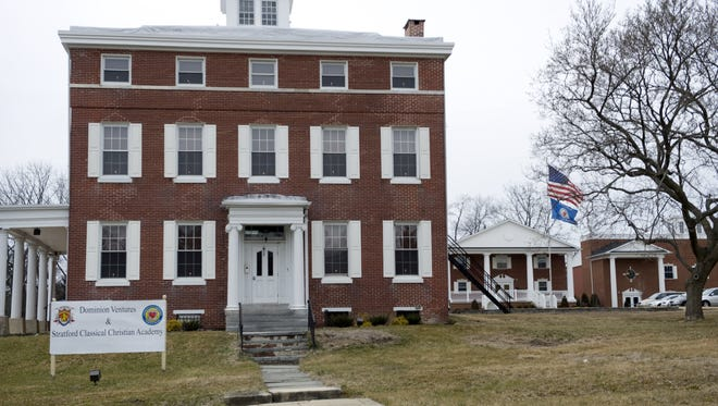 The Stratford Classical Christian Academy closed last year, putting the future of the former EphraimTomlinson mansion, the oldest house in Stratford,  in question. A developer hopes to preserve it.