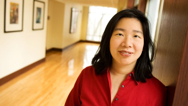Lan Samantha Chang, director of the Iowa Writer's Workshop, is reading and leading a workshop in this year's Writer's Block Festival