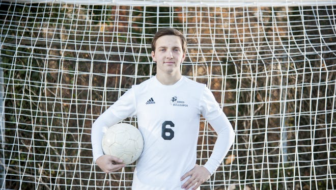 Haddonfield's Jack Dugan is the Courier-Post's 2017 boy's soccer player of the year.