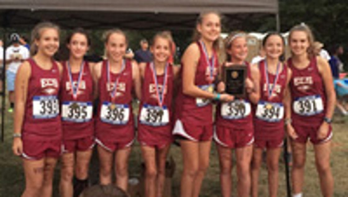 ECS sweeps middle school cross country titles