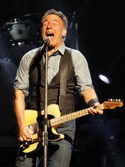 Bruce Springsteen thrills the crowd at the Blue Cross Arena in 2012.