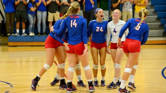 West Henderson, shown during a 2016 match, improved to 4-0 with its win Wednesday.