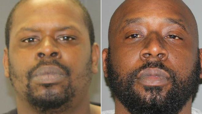 Charles Miller, left, and Kian Miller were indicted Feb. 14, 2018 in U.S. District Court in Grand Rapids.