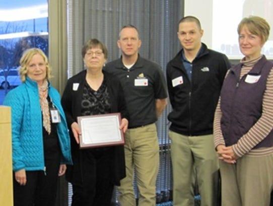 Fond du Lac Public Housing won the award for  Exemplary