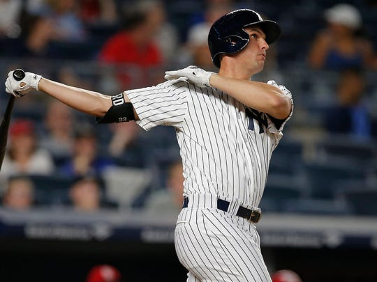 Greg Bird seemingly broke out of his slump with a 3-for-3 night, including a home run, against the Cardinals on April 16. But his struggles quickly returned.