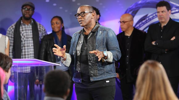 AMERICAN IDOL XIII: Randy Jackson addresses the contestants as part of his intensive workshop airing Tues, Feb. 18, on FOX.