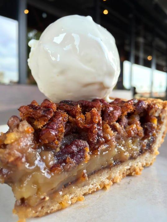 Fig Pecan Cream Pie