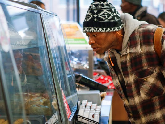 Lower gas prices have increased convenience store snacking
