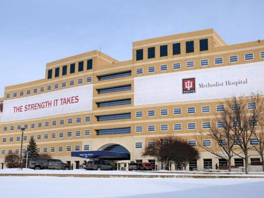 IU Methodist Hospital (pictured) has long been a cornerstone of IU Health, which has grown from three Downtown Indianapolis hospitals to nearly 20 health-care facilities statewide.