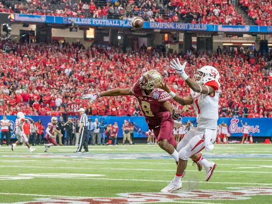 Florida State was upset 38-24 by Houston in the 2015