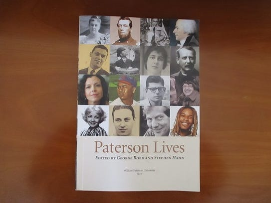 """he book, """"Paterson Lives,"""" which features poet, Maria"""
