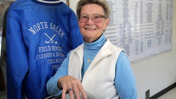 North Salem High School field hockey coach Emily Watson