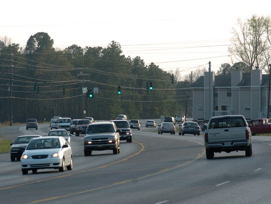 Traffic on La. Highway 28 East in Pineville. The parts