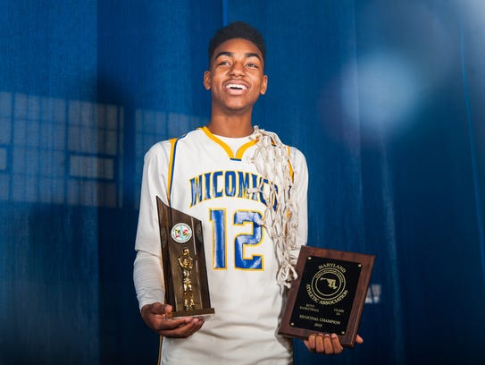 Wicomico High junior guard Torrey Brittingham was named