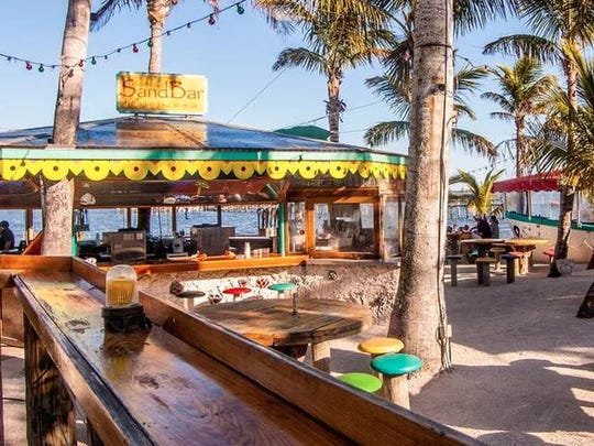 Capt Hiram's Sandbar was named by Coastal Living as one of Florida's best beach bars.