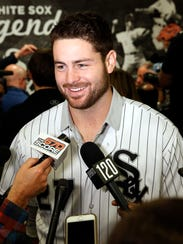 Lucas Giolito was traded to the White Sox over the