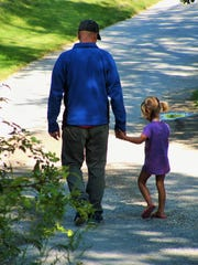 Much too soon, the tiny pre-school girl a dad counsels,