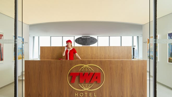 "Located on the 86th floor of One World Trade Center in lower Manhattan, the ""TWA lounge at 1WTC"" is equal parts museum and timepiece."