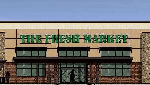 A Fresh Market grocery store will occupy the former OfficeMax space at Lion's Head Village on White Bridge Road.