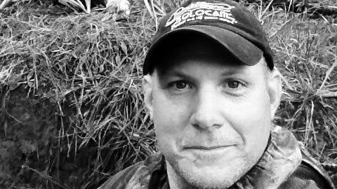 Jim Bob Brock's turkey-hunting selfie
