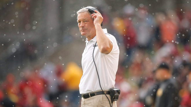 Iowa head football coach Kirk Ferentz's program has gone through a rocky summer of allegations about racism.