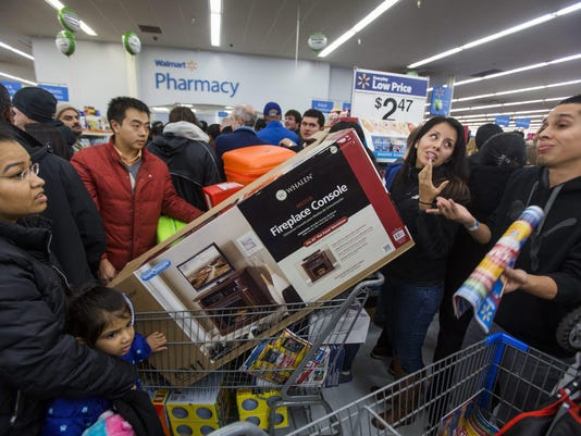 EPA USA BLACK FRIDAY SHOPPERS EBF CONSUMER GOODS USA VA