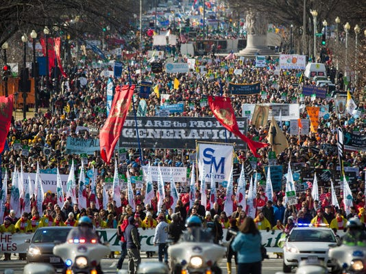 Anti-Abortion Advocates Hold Annual Rally in DC