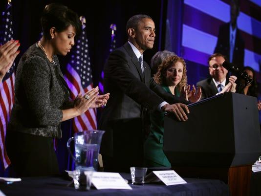 President Obama Addresses DNC Winter Meeting