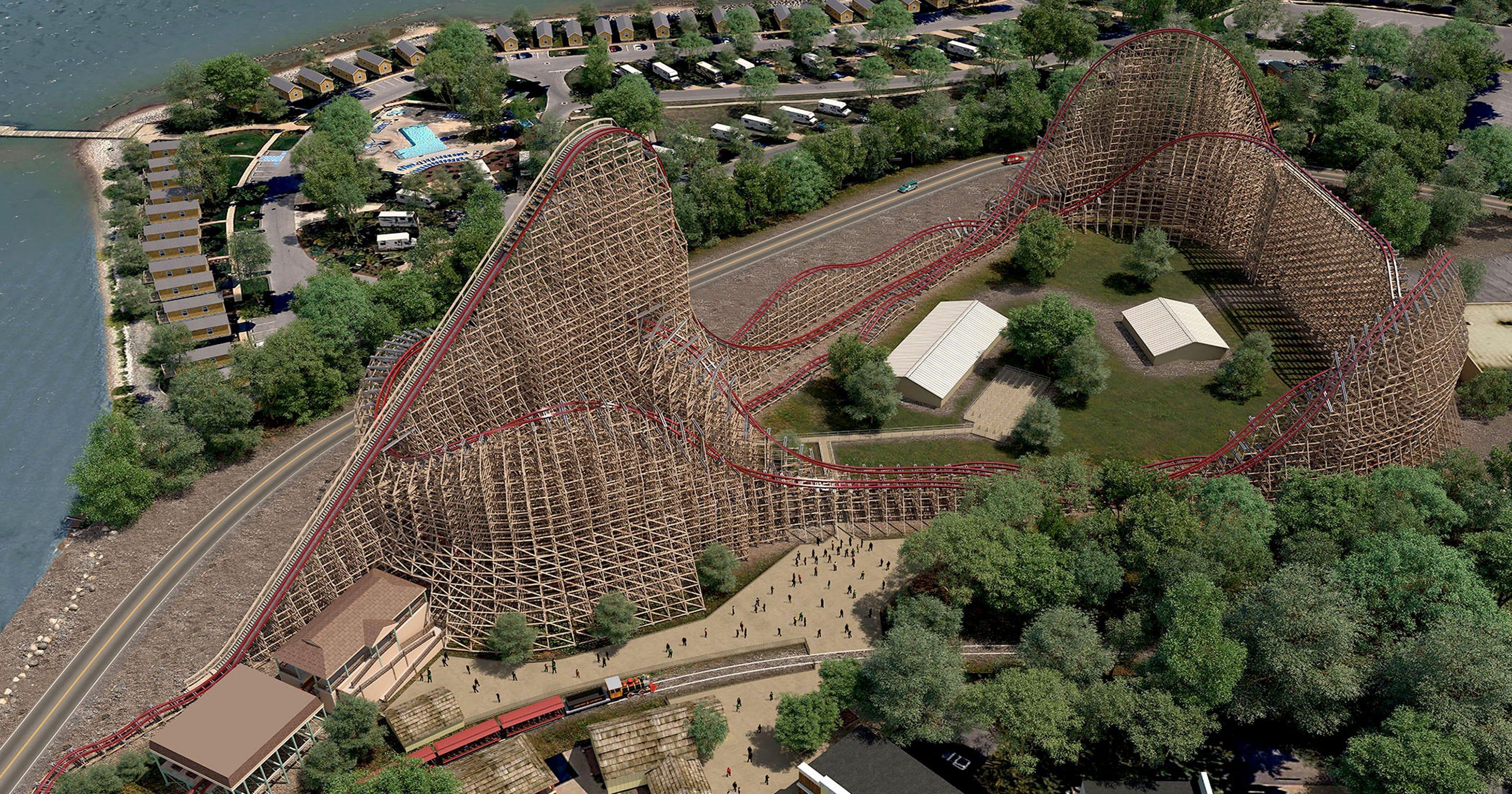 Cedar Point Announces New Steel Vengeance Roller Coaster
