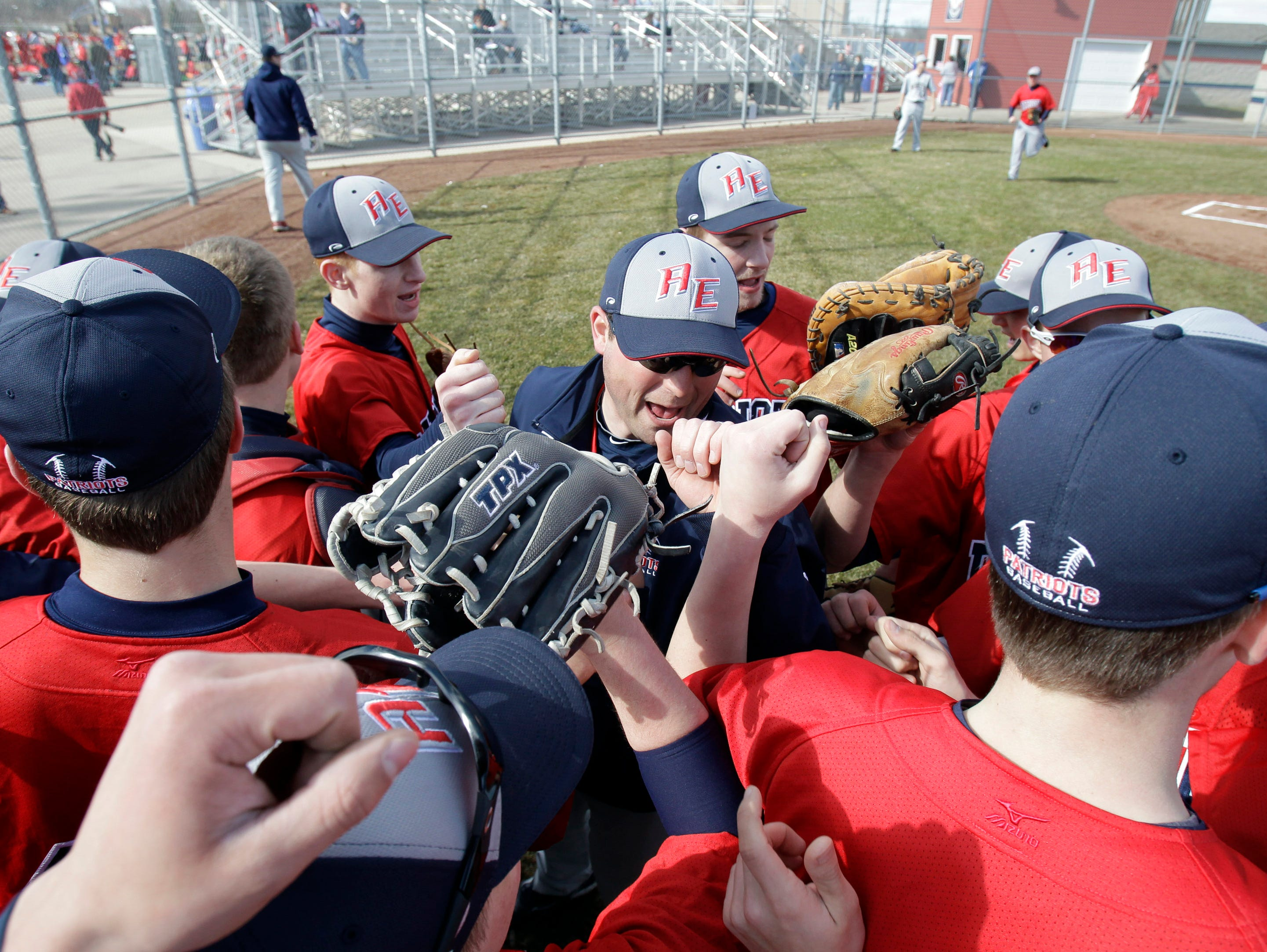 Appleton East will face Oshkosh North on Thursday in a Fox Valley Association baseball game at Neuroscience Group Field at Fox Cities Stadium in Grand Chute.