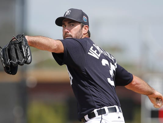 MLB: Spring Training-Washington Nationals at Detroit Tigers