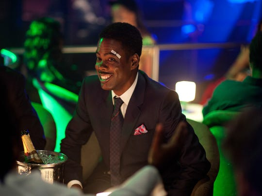 """This photo provided by Paramount Pictures shows Chris Rock as Andre Allen in """"Top Five,"""" from Paramount Pictures and IAC Films. (AP Photo/Paramount Pictures, Ali Paige Goldstein)"""