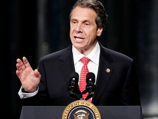 Cuomo presidential podium