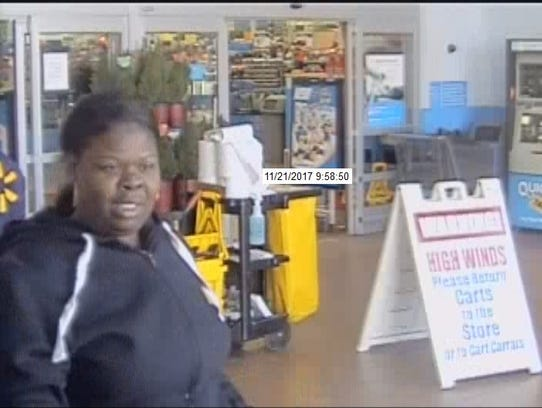 This is one of two persons of interest being sought