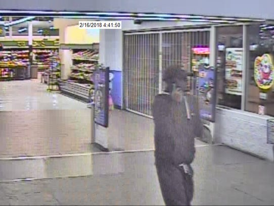 Suspect caught on camera at Walmart is wanted for using