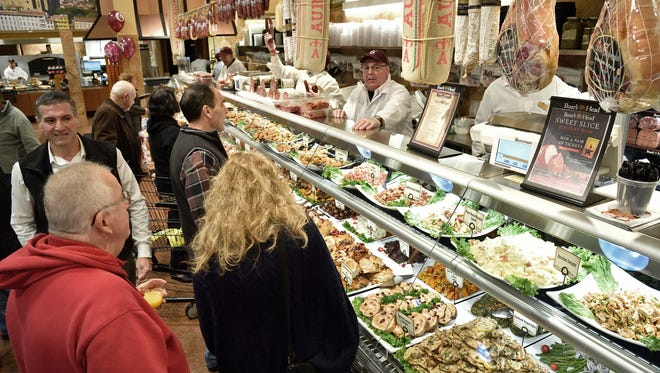 The deli counter was buzzing during the grand opening of Uncle Giuseppe's supermarket in Ramsey last month.