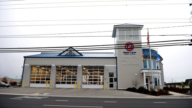 Ocean City Fire Department Station #4 located on 12925 Coastal Hwy. Thursday, Jan. 5, 2017.