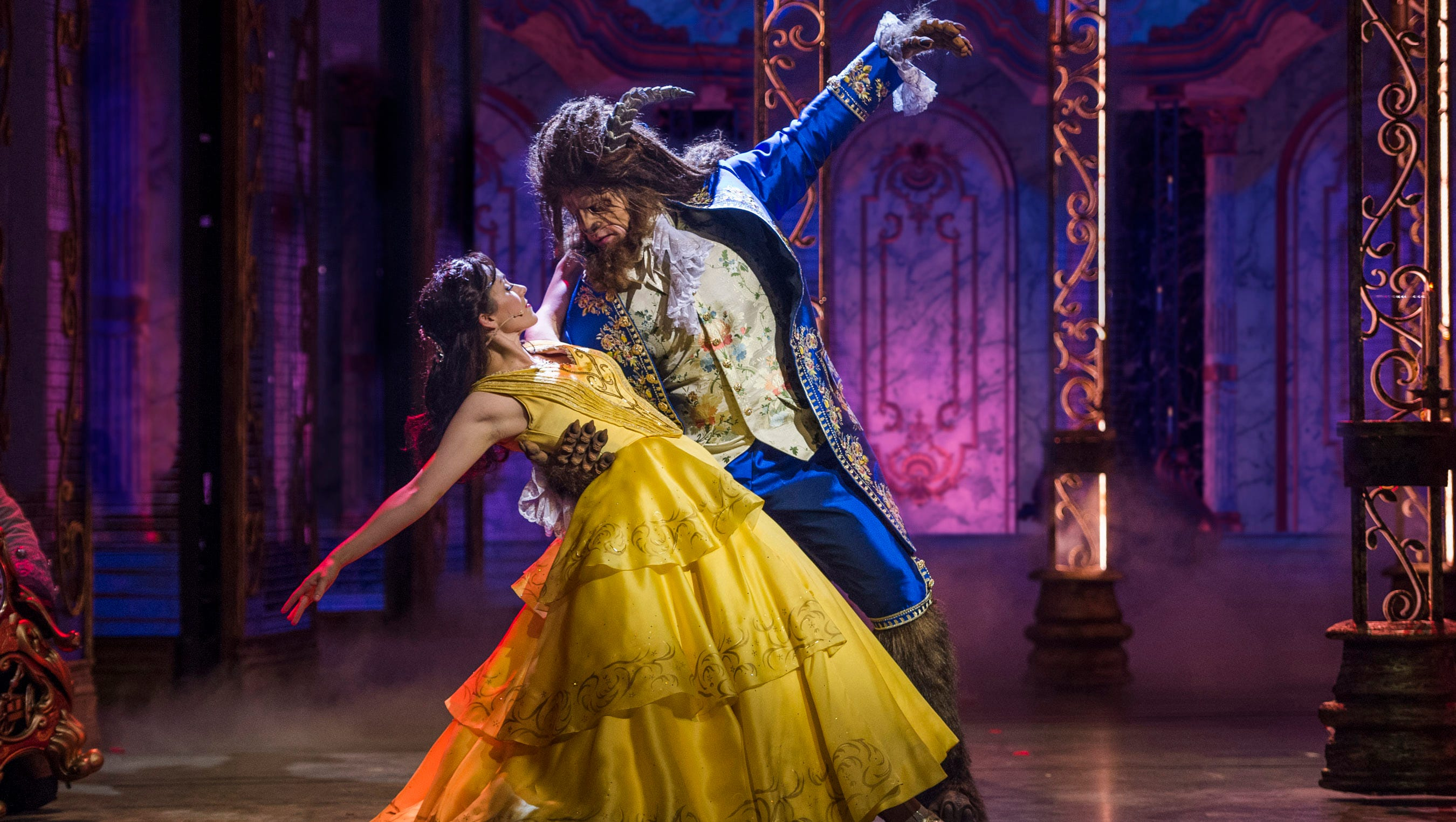 Beauty And The Beast Disney Musical Debuts On Cruise Ship Dream