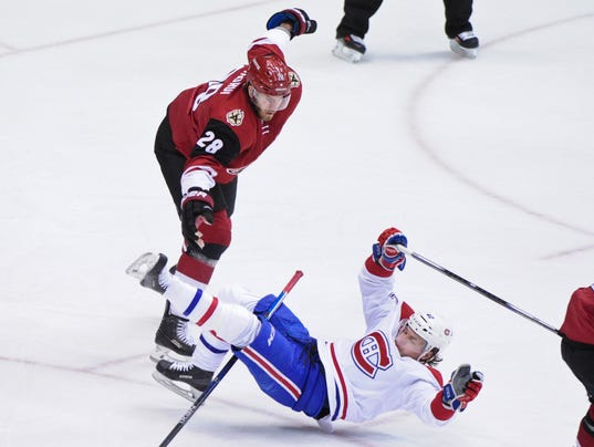 NHL: Montreal Canadiens at Arizona Coyotes