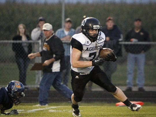 Senior Ethan Korb, has rushed for 2,003 yards and 26