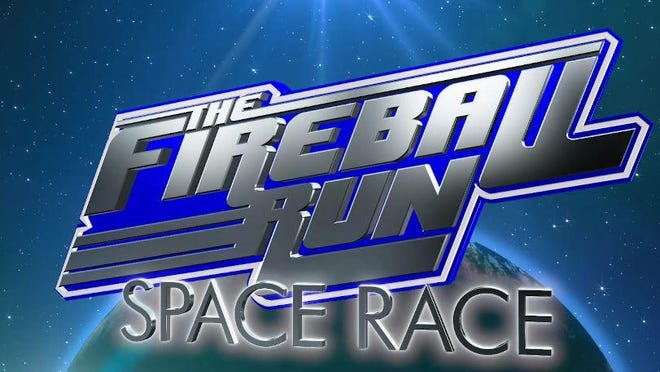 """This season of """"Fireball Run,"""" which boasts of being the only reality show in real time, includes a team made up of astronauts."""