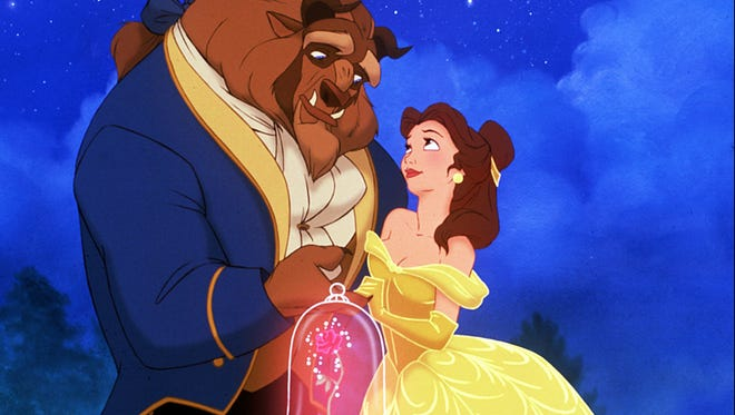 """Walt Disney's """"Beauty & The Beast"""" (1991) is being remade as a live-action movie for 2017."""