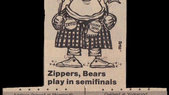 It's a cartoon image, but a real sentiment - area football fans had a pair of amazing teams to cheer for in 1983.