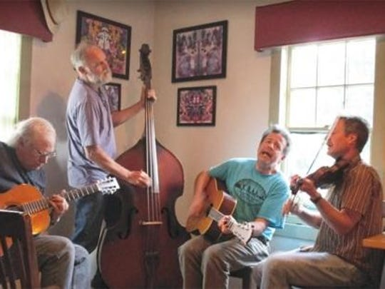 The Lightning Rods will perform bluegrass music March 25 at the Phoenicia Library, Main Street in Phoenicia.