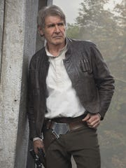 Harrison Ford returns to the role of Han Solo, the