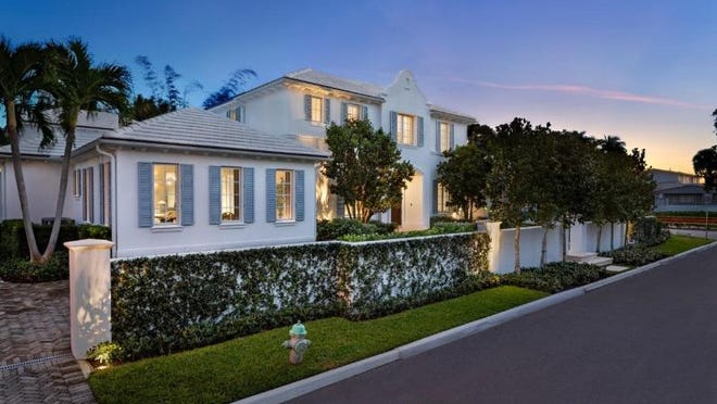 Renovated by the sellers, a 2008 house at 268 Nightingale Trail has just changed hands for a recorded $8.6 million, the price recorded with with the deed.