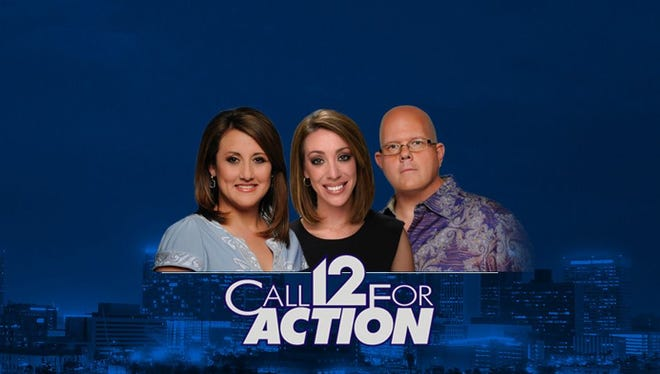 Veronica Sanchez (left), Stacia Naquin and Robert Anglen lead the Call 12 for Action consumer team. Trained volunteers are available weekdays to help resolve disputes with businesses.