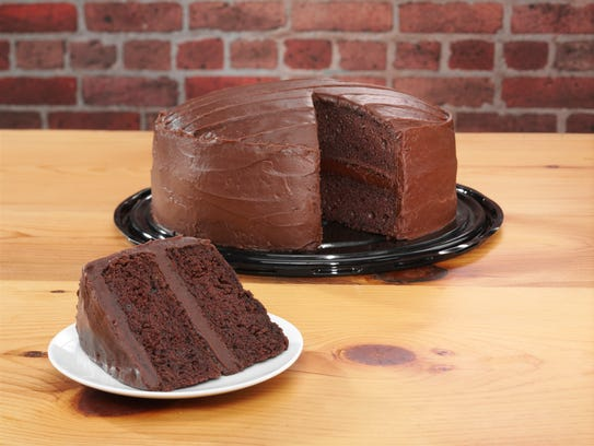 Portillos Chocolate Cake Heart Shaped